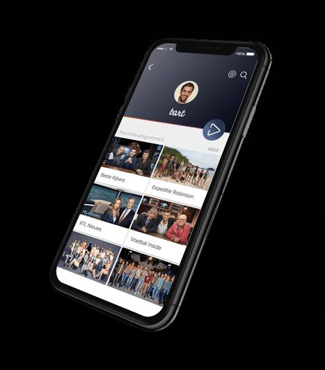 RTL XL app design
