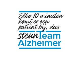 Steun Team Alzheimer - De snelst groeiende dodelijke ziekte mist urgentie.